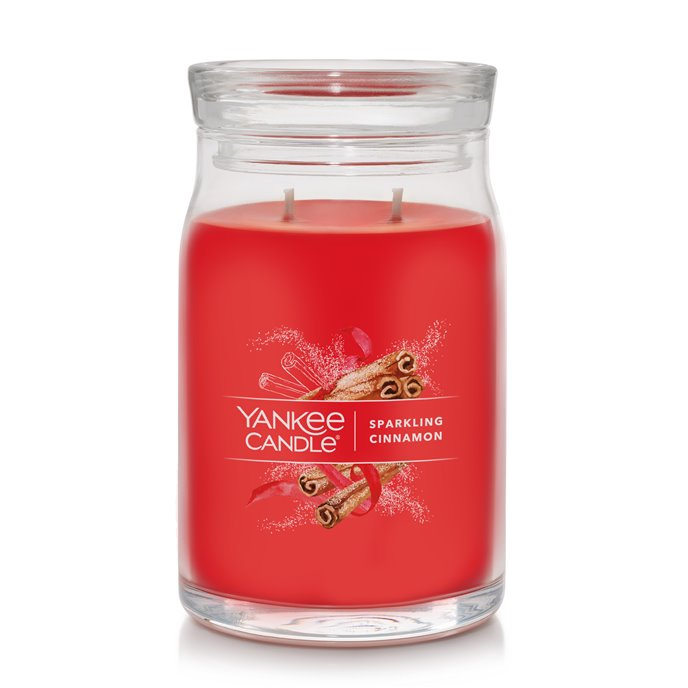 Yankee Candle Sparkling Cinnamon Large Jar Candle