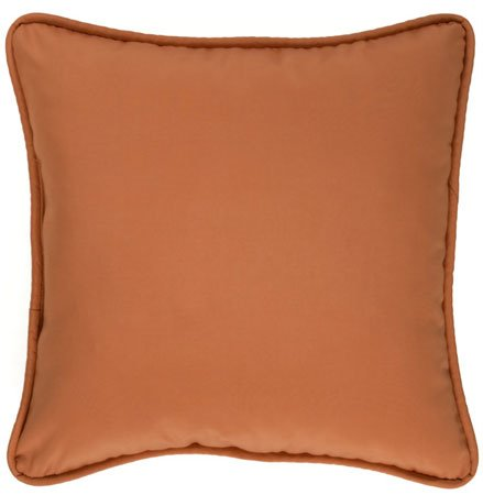 Cozumel Ginger Square Pillow