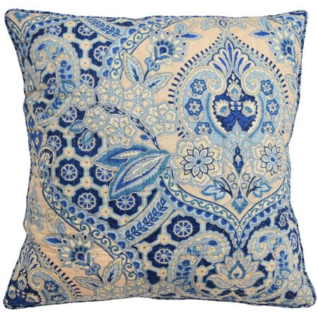 Waverly Moonlit Shadows 20-inch Square Decorative Accessory Pillow