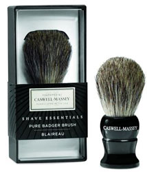 Caswell-Massey Shave Essentials Pure Grey Badger Shave Brush