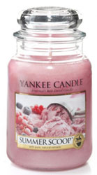 Yankee Candle Summer Scoop Large Jar Candle