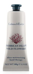 Crabtree & Evelyn Caribbean Island Wild Flowers Hand Therapy (3.5 oz., 100g)