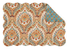 Mandalay Rectangular Quilted Placemat