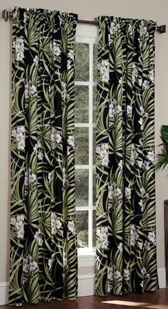 Jamaican Sunset Rod Pocket Curtains