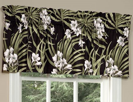 Jamaican Sunset Tailored Valance