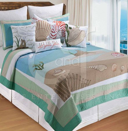 Whispering Sands King Quilt