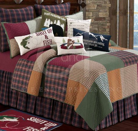 Gibson Lake Full Queen Quilt