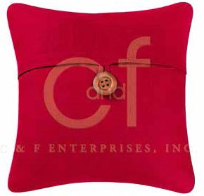 Red Feather Down Pillow
