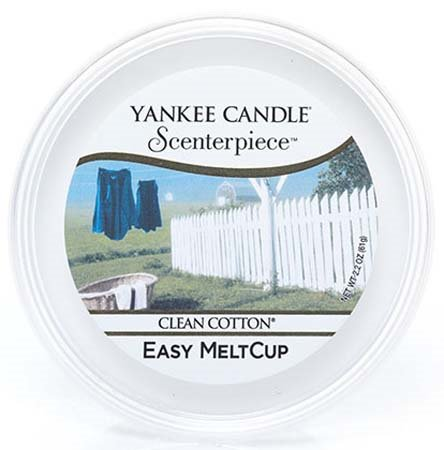 Yankee Candle Clean Cotton Scenterpiece Easy MeltCup