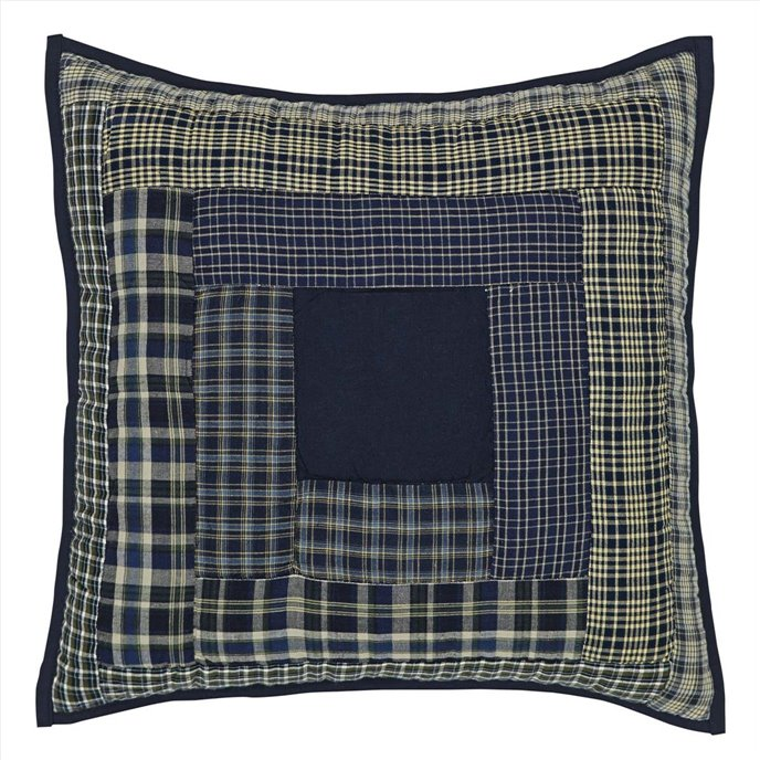 Columbus Quilted Pillow 16 x 16