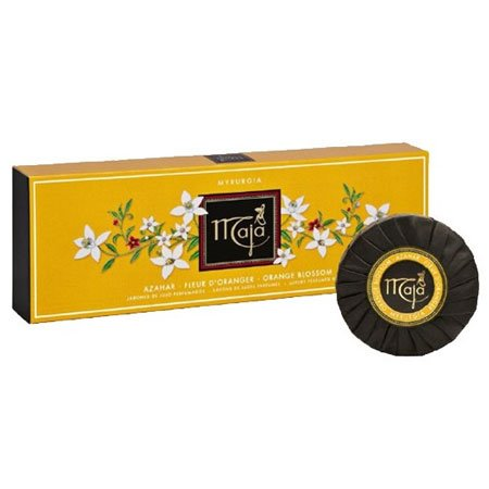 Maja Orange Blossom Soap Round Bar Pack of 3 (3 x 3.5 oz, 100g)