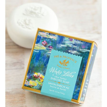 Pre de Provence Water Lily Gift Soap