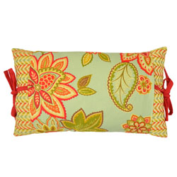 Charismatic Honeysuckle 12 x 20 Pieced Decorative Pillow