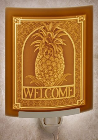 Welcome Night Light by Porcelain Garden