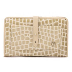 Spartina 449 Boutique Croc Snap Wallet Blonde