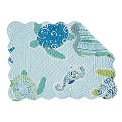 Imperial Coast Rectangular Quilted Placemat