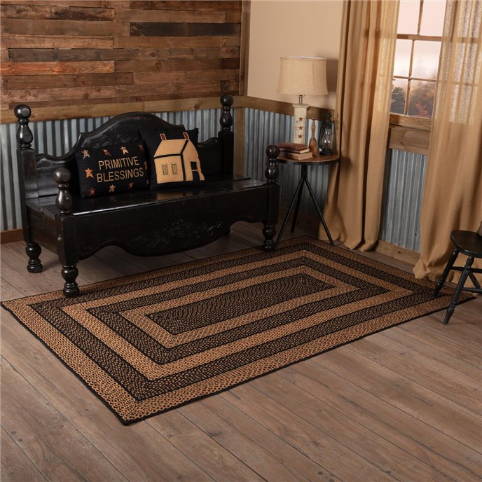 Farmhouse Jute Rug Rectangular 60x96