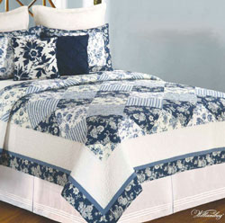 Blue Canton King 3 Piece Set