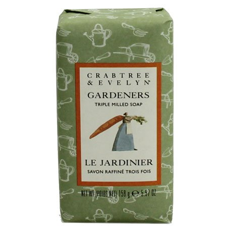 Crabtree & Evelyn Gardeners Triple Milled Soap single bar (5.57oz/158g)