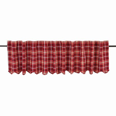 Braxton Scalloped Valance Lined 16x90