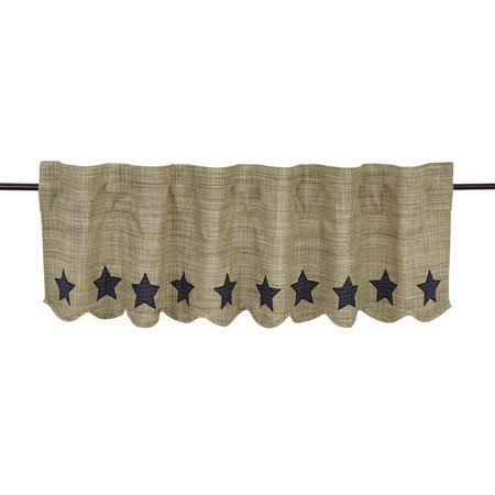 Vincent Scalloped Valance Lined 16x60