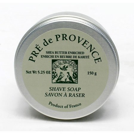 Pre de Provence Shea Butter Enriched Shave Soap in Tin