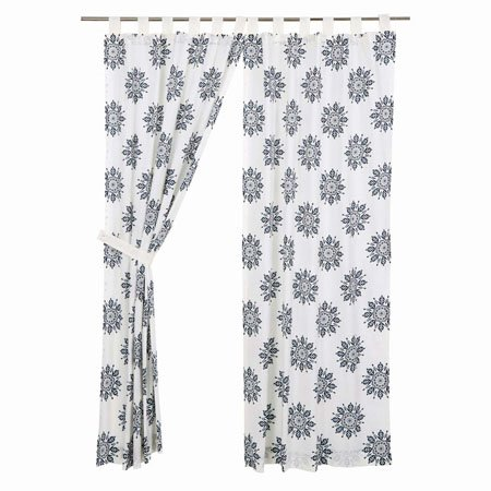 Mariposa Indigo Panel Set of 2 84x40