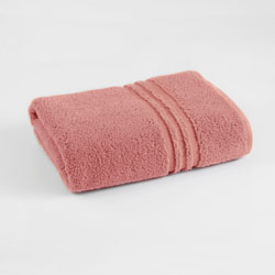 Under The Canopy Unity Certified Organic Cotton Coral Bath Towel