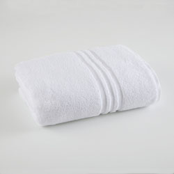 Under The Canopy Unity Certified Organic Cotton White Bath Towel