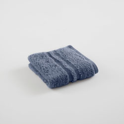 Under The Canopy Unity Certified Organic Cotton Blue Wash Cloth