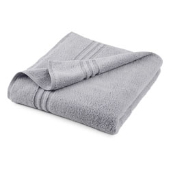 Under The Canopy Unity Certified Organic Cotton Chrome Bath Sheet