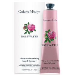 Rosewater Hand Therapy Purse Size (50 ml) by Crabtree & Evelyn