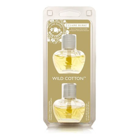 Claire Burke Wild Cotton Fragrance Warmer Refill