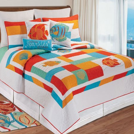 South Seas Twin Quilt