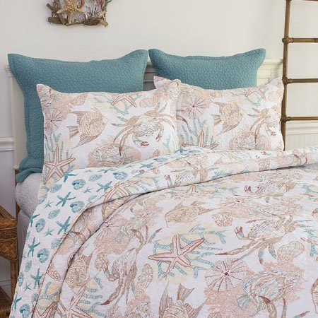 Key Biscayne King 3 Piece Quilt Set