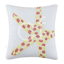 Tufted Starfish Pillow
