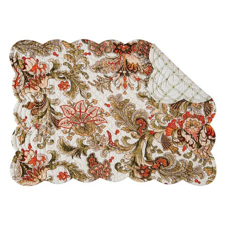 Jocelyn Rectangular Quilted Placemat