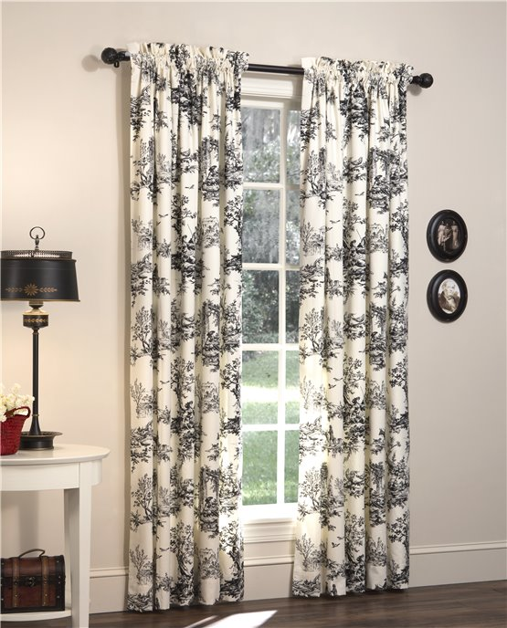 Bouvier 84 inch long Lined Drapery Panel Pair