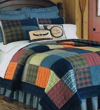 Northern Plaid Full Queen Quilt