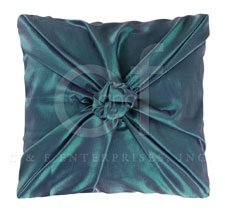 Kasbah Jade with Amethyst Shimmer Knot Pillow