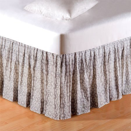 Fretwork Twin Bedskirt