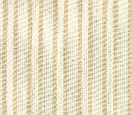 Beige Stripes Queen Bedskirt