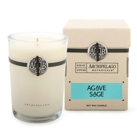 Archipelago Agave Sage Soy Boxed Candle