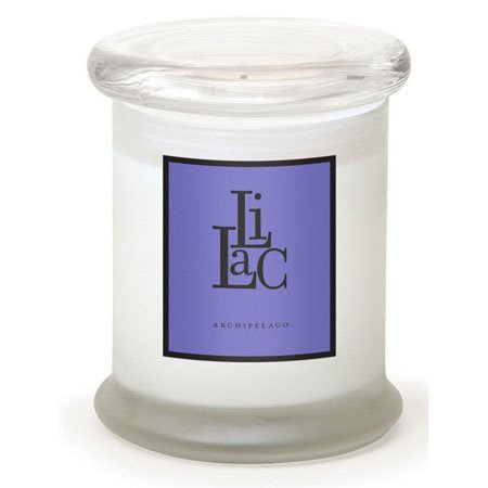 Archipelago Lilac Frosted Jar Candle
