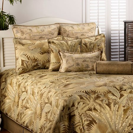 Bahamian Coffee Twin size Bedspread