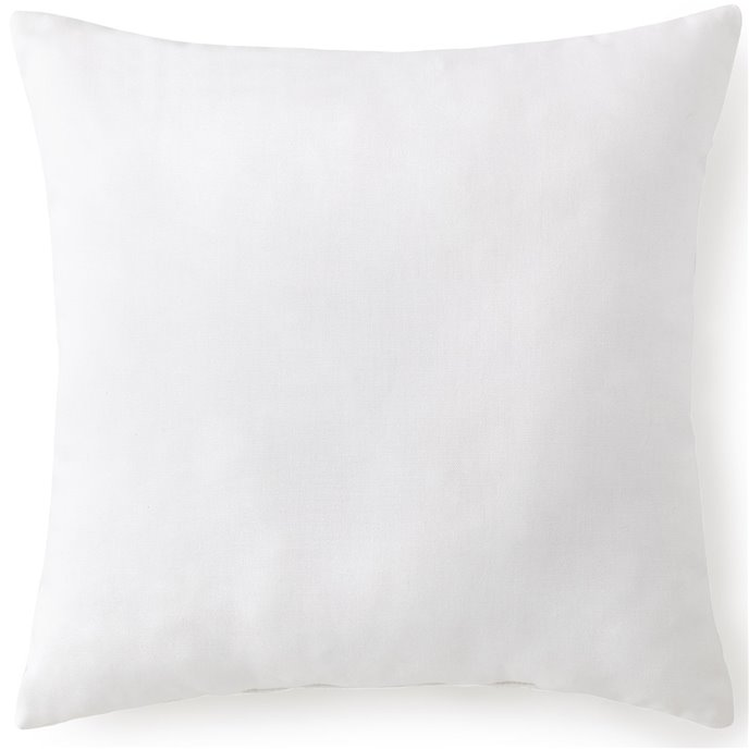 Blue Falls Square Cushion- Solid White - 18