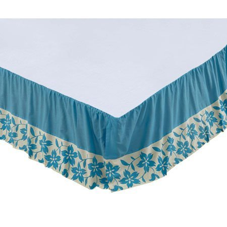 Briar Azure Twin Bed Skirt 39x76x16