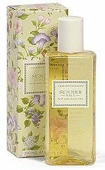 Summer Hill Bath & Shower Gel by Crabtree & Evelyn (200ml)