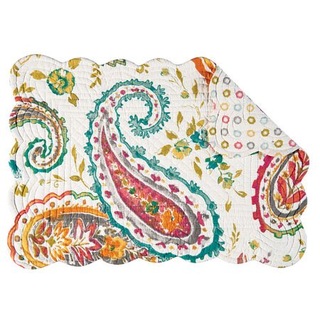 Adalynn Rectangular Quilted Placemat