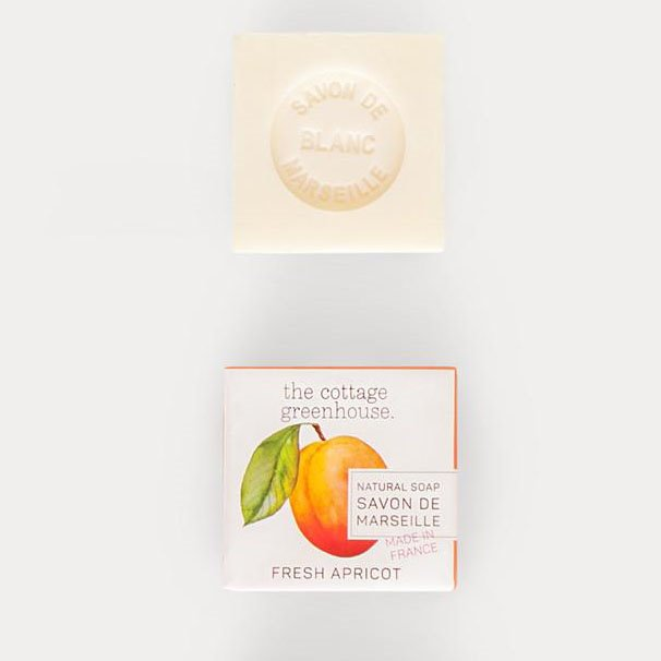 Marseille Apricot Soap by The Cottage Greenhouse